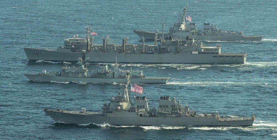 США, ВМС США, эсминцы, Donald Cook, Roosevelt, Черное море,