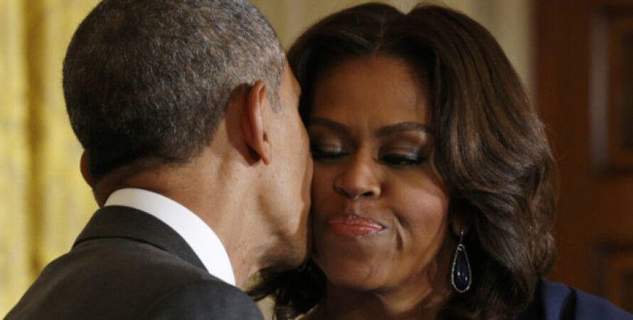 Барак и Мишель Обамы/Фото с сайта belsat.eu