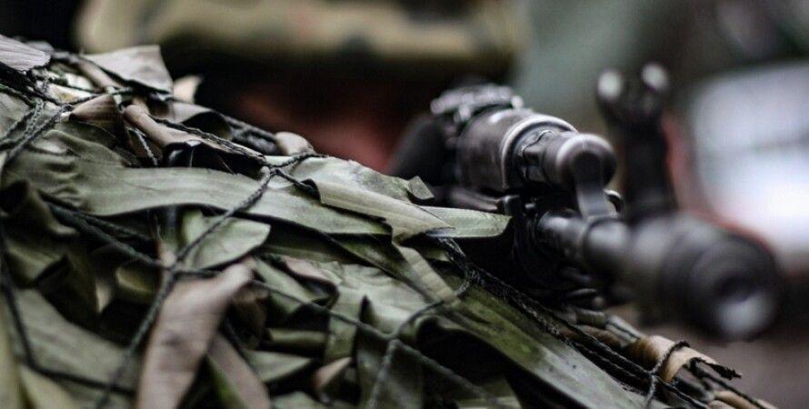 боевики, Донбасс, выстрел, автомобиль, блокпост, ВСУ