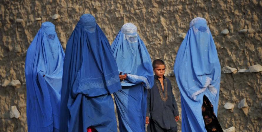 талібан про права жінок, Афганістан
