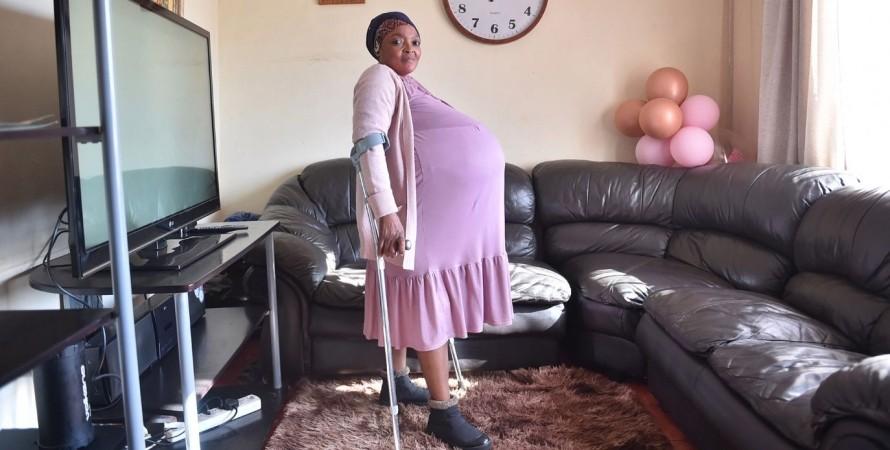 Госиаме Тамара Ситхоле, ЮАР, роды, беременность,