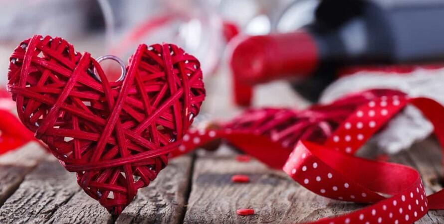 День всех влюбленных, сердце, любовь, вино, день святого валентина