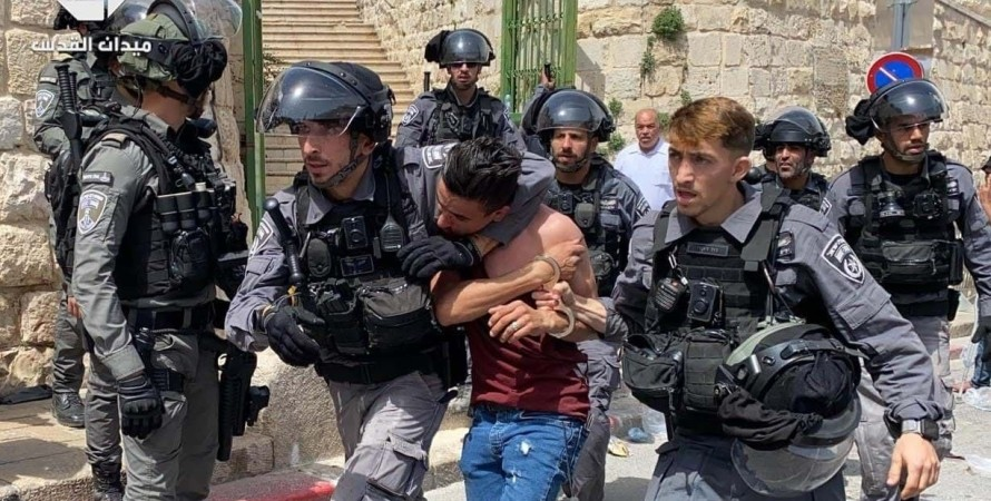ізраїль, поліція, зіткнення, храмова гора, фото