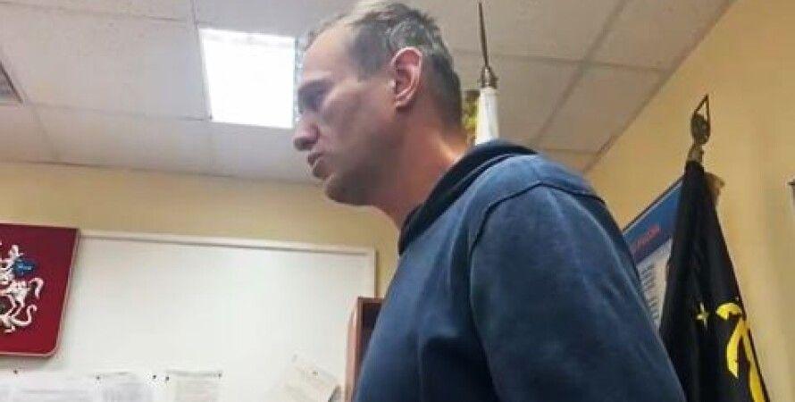 Олексій Навальний, Суд, Арешт, Москва Опозиціонер