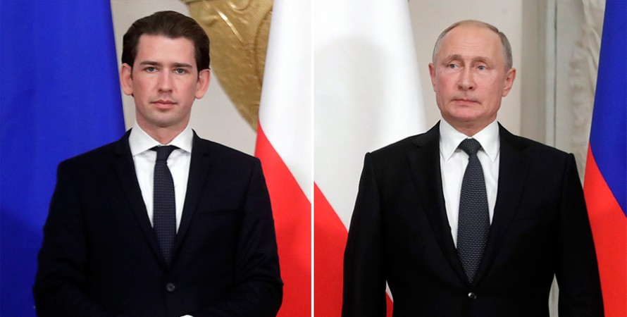Себастьян Курц, Владимир Путин, Джо Байден, Вена, Донбасс