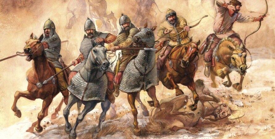 скіфи, коні, боротьба, кочівники