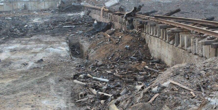 Последствия пожара в Сватово / Фото: facebook.com/MykolaChechotkin