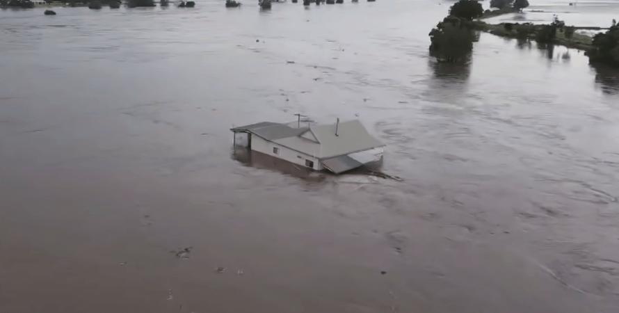 повінь в австралії