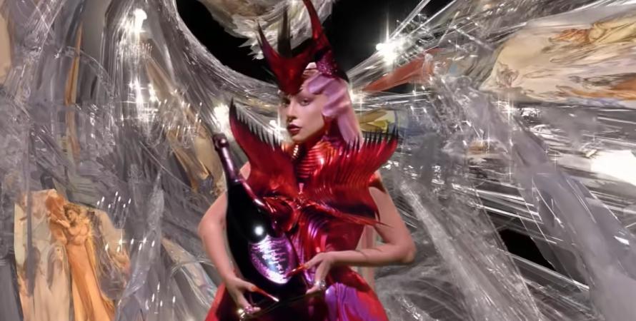 Леди Гага, Dom Pérignon