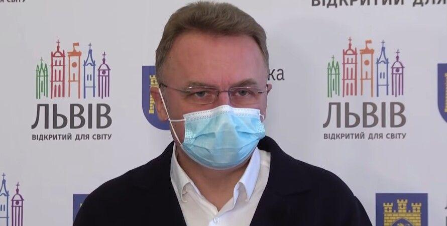 Львов, Андрей Садовой, мэр, брифинг