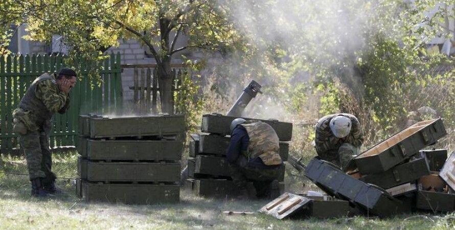 Террористы обстреливают позиции АТО / Фото: ТСН
