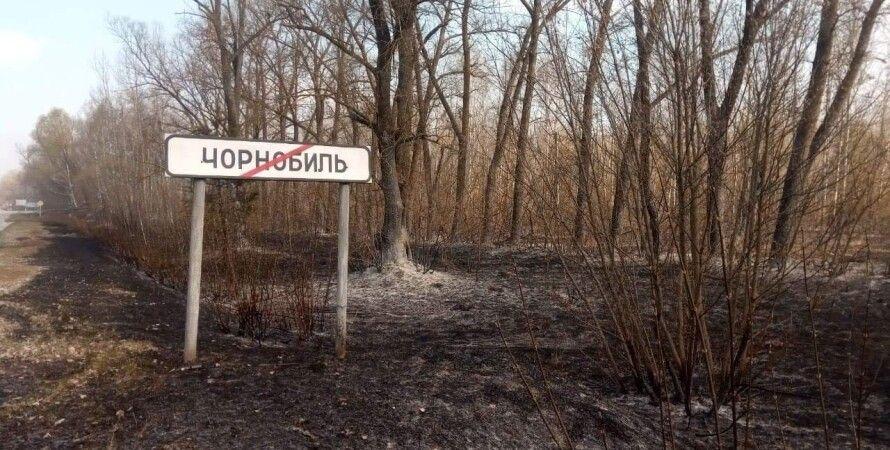 пожар в чернобыле, чернобыльская зона отчуждения