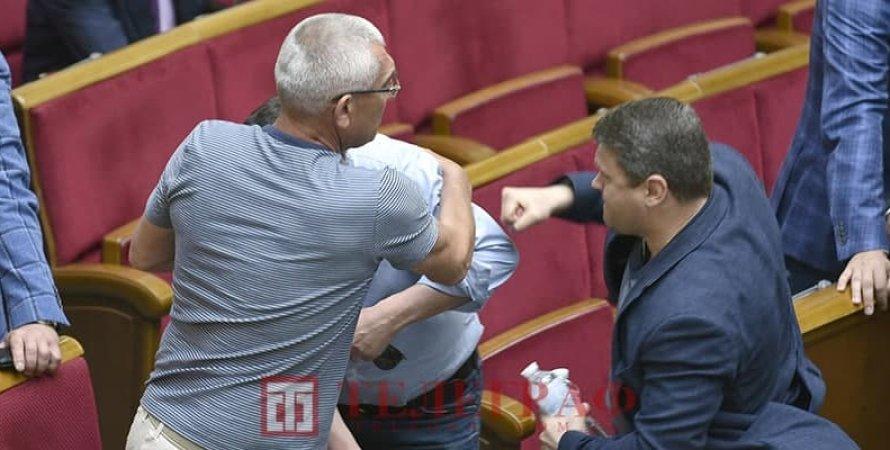 бійка, бійка в Раді, бійка Івченко і Сольского в Раді