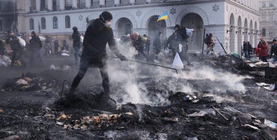 Евромайдан / Фото: Дарья Решетняк/Фокус