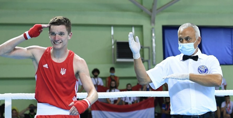 Олег Гічва, бокс, фото
