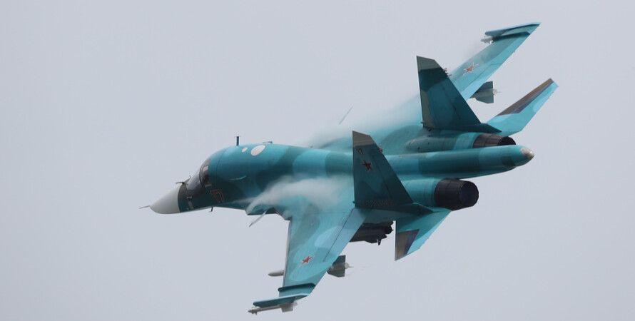 Истребитель-бомбардировщик Су-34/Фото:ТАСС