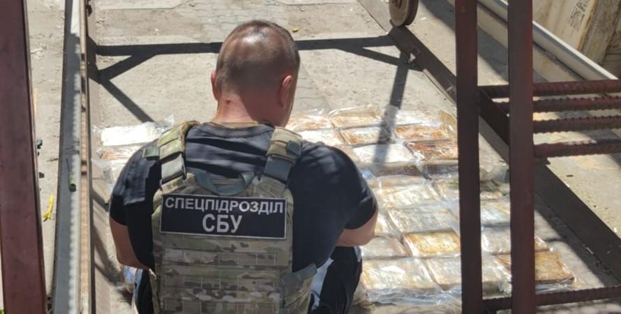 В Одессе СБУ ликвидировала новый наркотрафик итальянской мафии