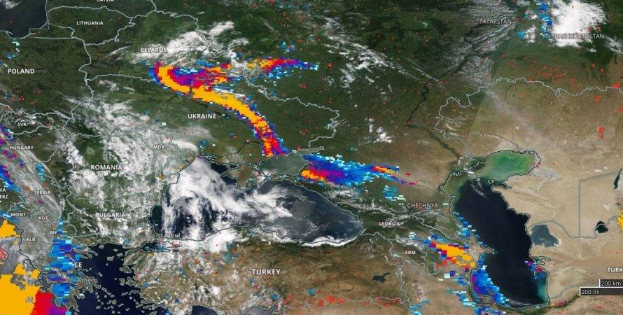 зміна клімату, опустелювання, пилова буря