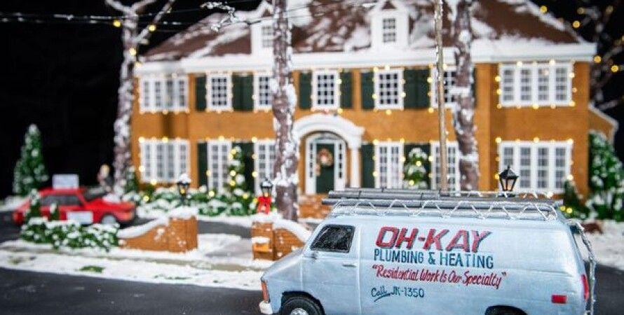 Один дома, фильм, дизайн, пряничный домик, Disney