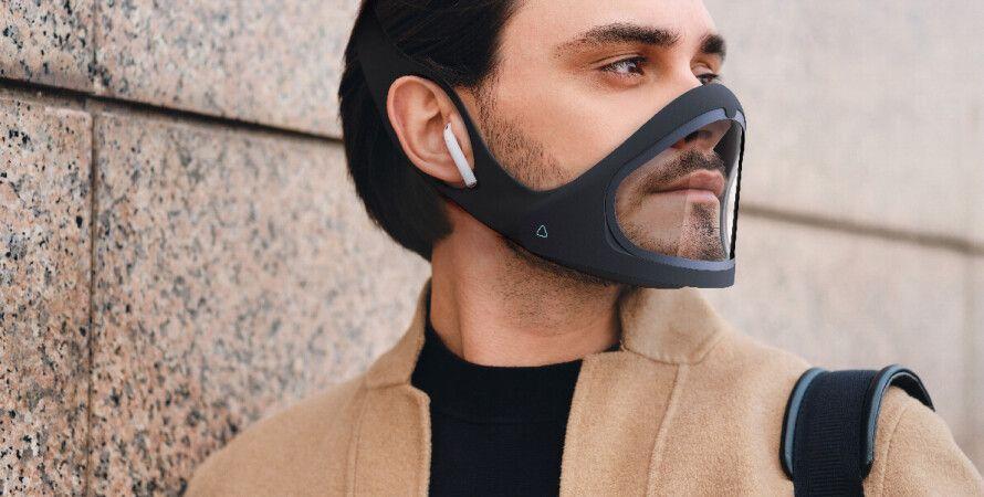 Cliu, умная маска, смарт-маска, маска от коронавируса