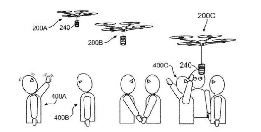 Иллюстрация из патентной заявки. IBM