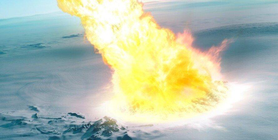 метеорит, зіткнення, Земля, фото, Антарктида