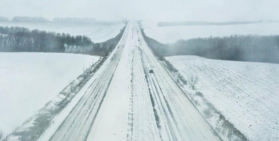 погода, сніг, Укравтодор, ожеледиця, Аеропорт, Жуляни