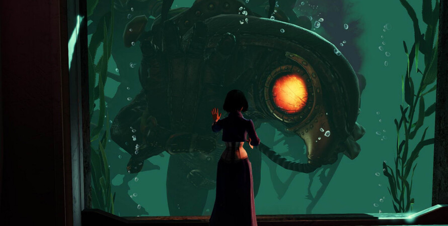 Кадр из игры Bioshock 2