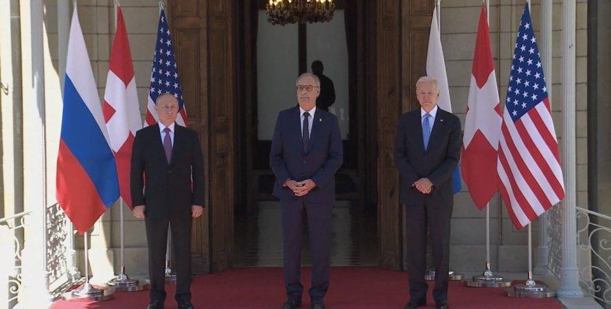 Переговори, Швейцарія, президенти, Путін, Байден