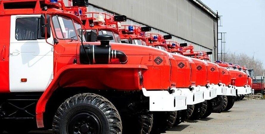 Пожарные машины / Фото из открытого источника