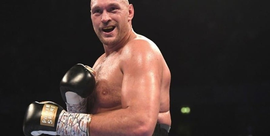 Тайсон Фьюри, бокс, бой, супертяжелый вес