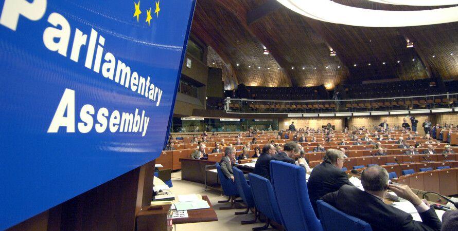 Зал заседаний ПАСЕ / Фото: assembly.coe.int