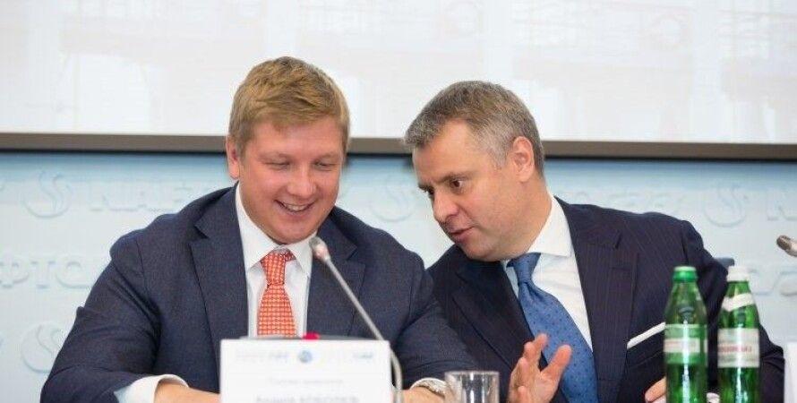 """Андрей Коболев (слева) и Юрий Витренко. Фото: """"Главред"""""""