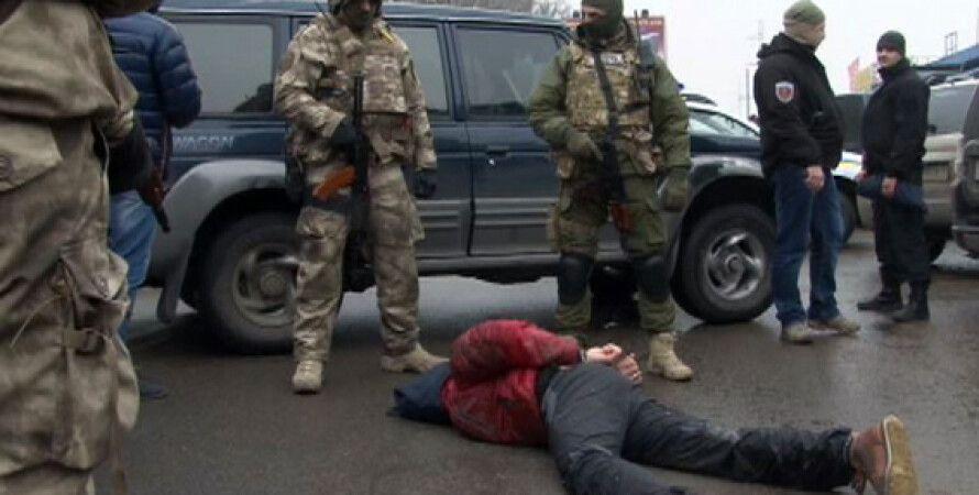 Задержание злоумышленников в Одессе / Фото пресс-службы МВД Украины
