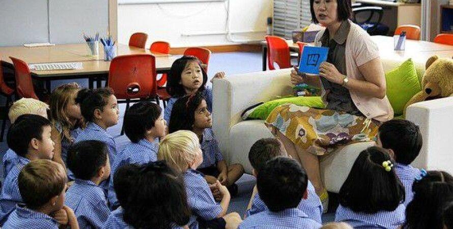 Гонконг, школа, дети