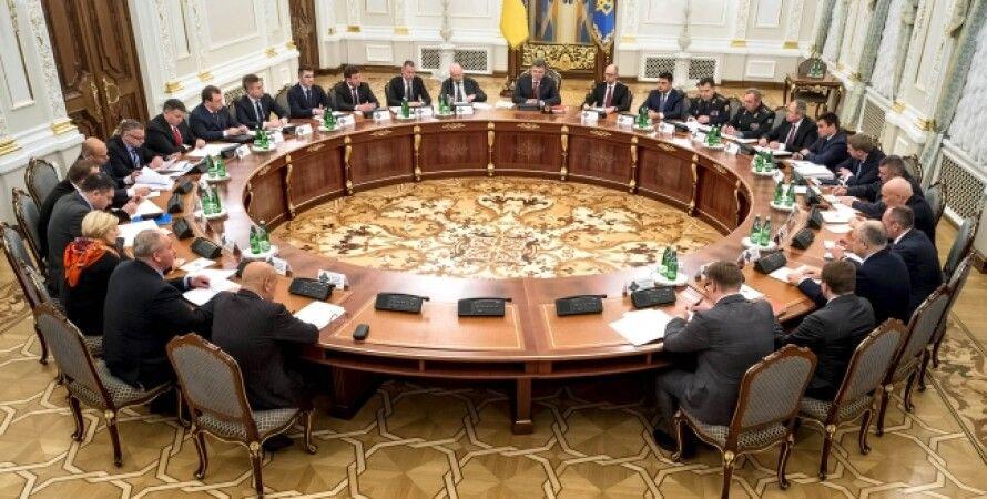 Заседание СНБО / Фото пресс-службы президента