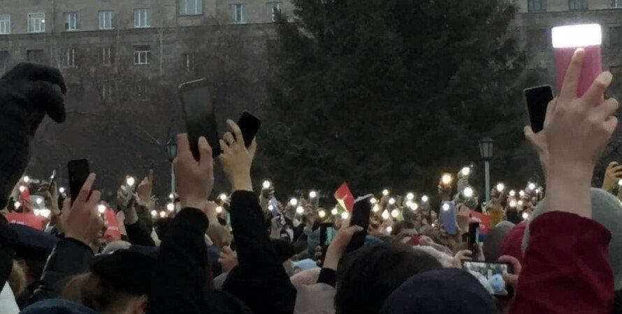 россия, протесты, митинги, Алексей навальный, митинг Навальный