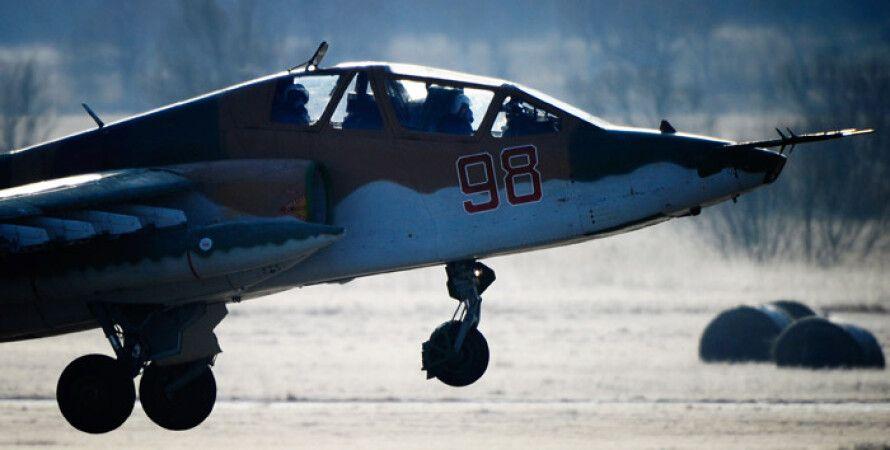 Штурмовик Су-25УБ./Архивное фото.