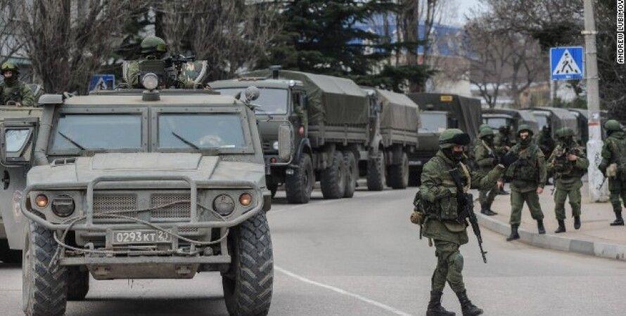 Российские оккупанты в Крыму / Фото: ipnews.in.ua