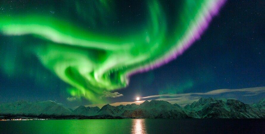 Северное сияние / Фото из открытых источников