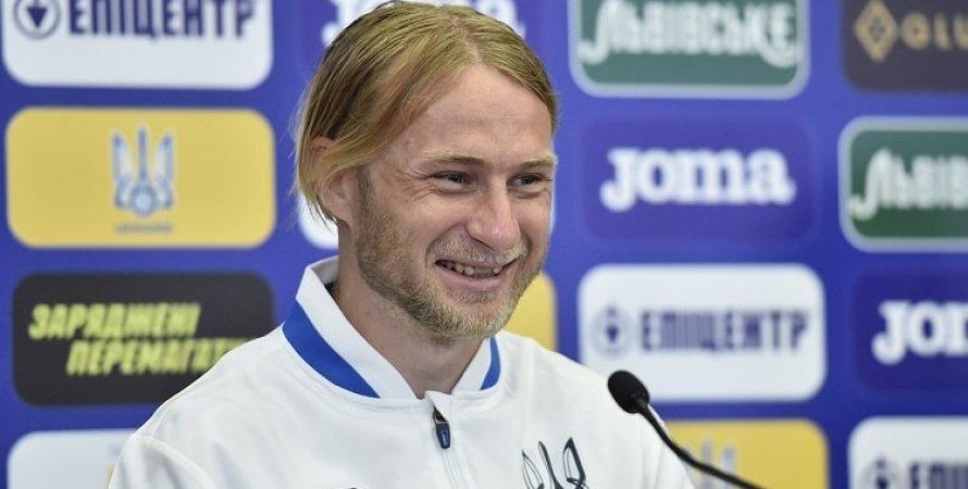 Роман Безус, сборная Украины