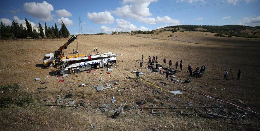 Турция, ДТП в Турции, смертельная авария в Турции
