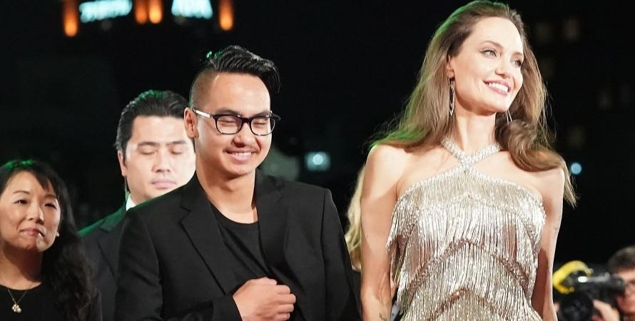 Анджелина Джоли, Мэддокс Джоли-Питт, приемный сын, фото