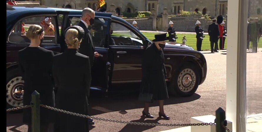Королева Єлизавета II, похорон принца Філіпа