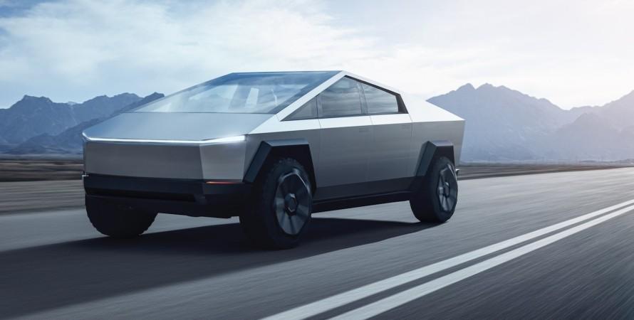 Пікап Tesla Cybertruck буде оснащений усіма поворотними колесами