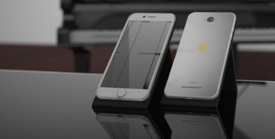 концепт нового iPhone из соцсетей