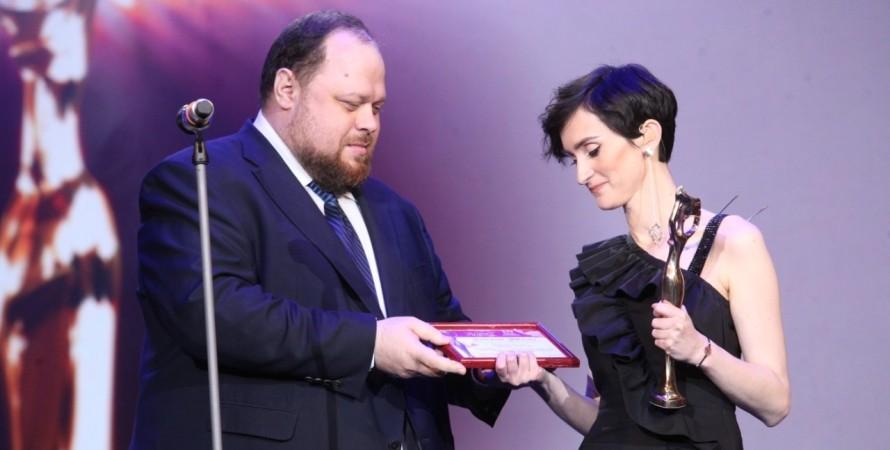 Руслан Стефанчук, Екатерина Павленко, женщина 3 тысячелетия, награда