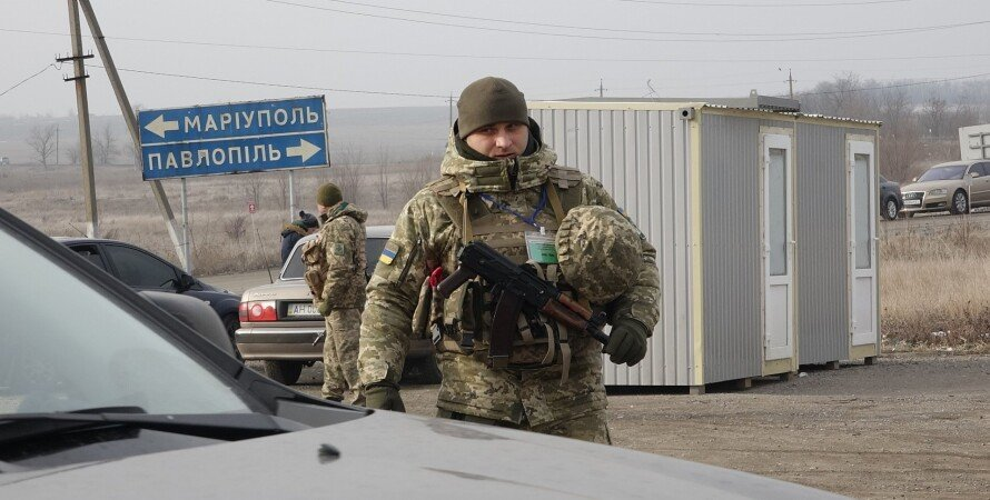 КППВ на Донбасі, блокпост, українські військові