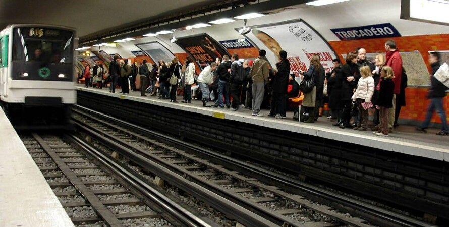 метро, париж