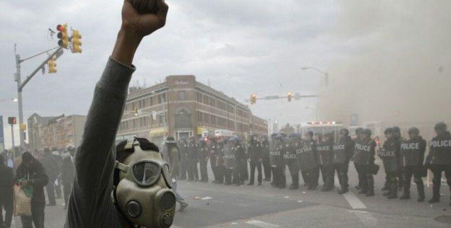 Протесты в Балтиморе / Фото: AP